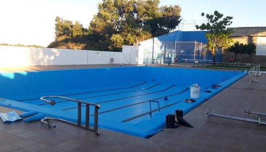Actuacions de millora i condicionament a les piscines municipals