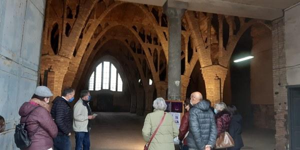 Imatge del moment de les visites