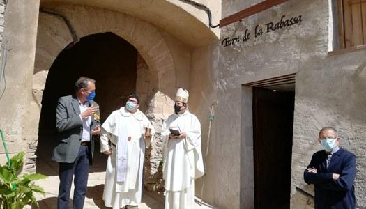 Inaugurada la rehabilitació de l'antic forn de la Rabassa