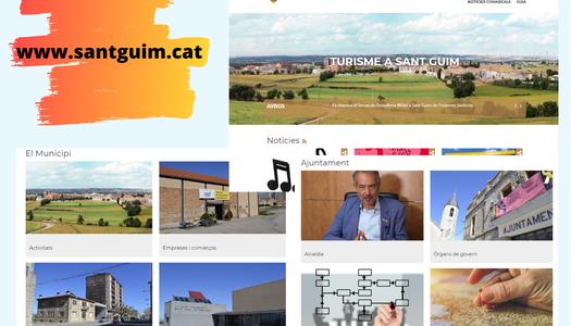 L'ajuntament de Sant Guim de Freixenet estrena nova web