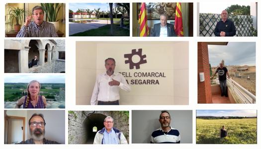 """L'ajuntament de Sant Guim de Freixenet participa en la campanya """"Tornarem"""""""