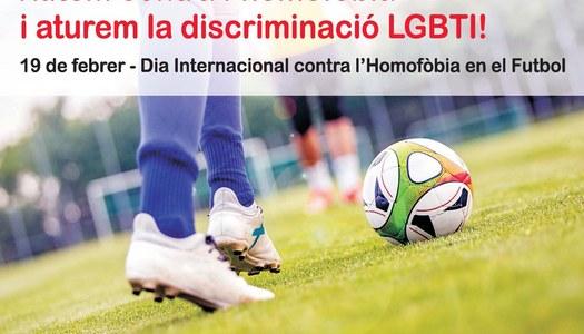 """L'Ajuntament de Sant Guim de Freixenet s'adhereix a la Campanya de la Generalitat i """"Xutem contra l'homofòbia i aturem la discriminació LGBTI"""""""
