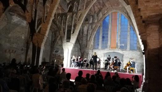 L'Escola Municipal de Música de Sant Guim de Freixenet celebra el final de curs al Sindicat modernista