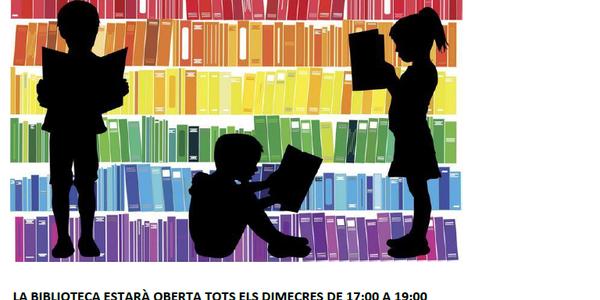 Obertura Biblioteca gener, 2021.