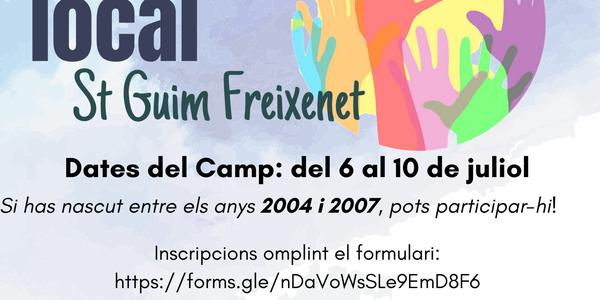 Obertes les inscripcions pel Camp de Treball Sant Guim de Freixenet 2020